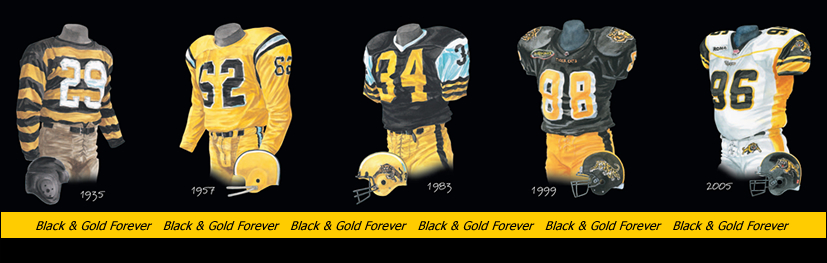 Jerseys and Helmets over the years