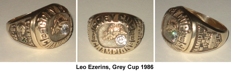 Leo Ezerins Ring, 1986