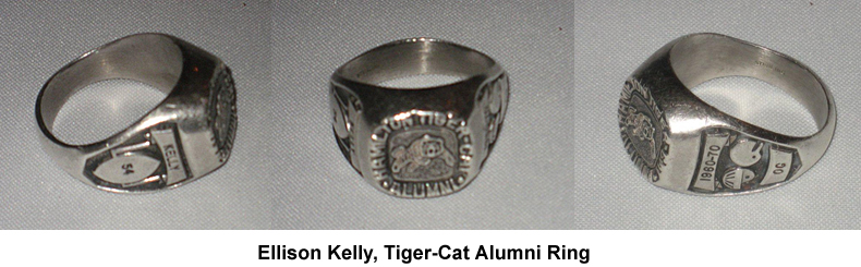 Ellison Kelly Alumni Ring