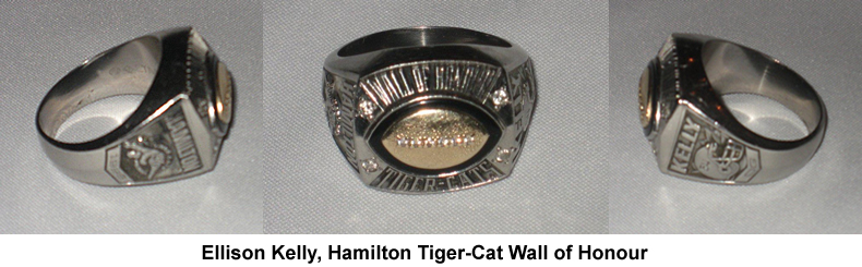 Ellison Kelly Wall of Honour Ring